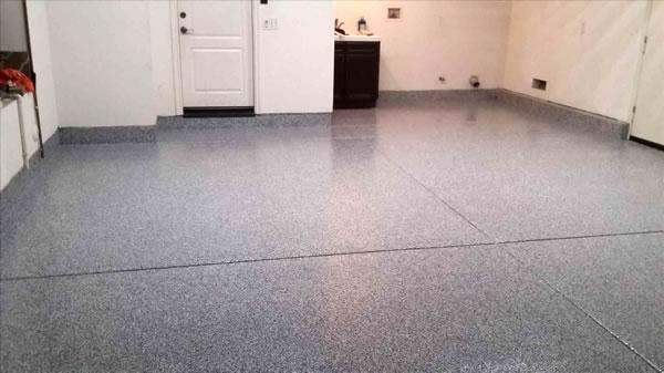 Residential Garage Concrete Coating