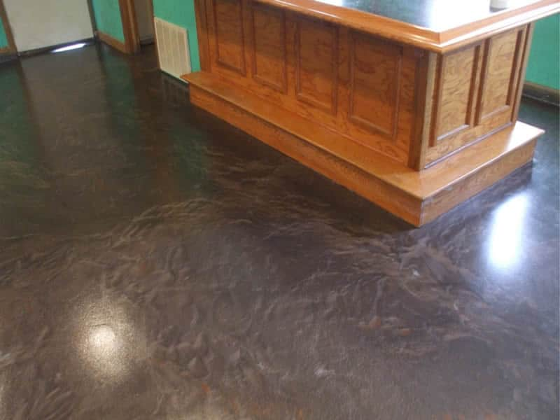 Hospitality Reception Area with Epoxy Floor Coating