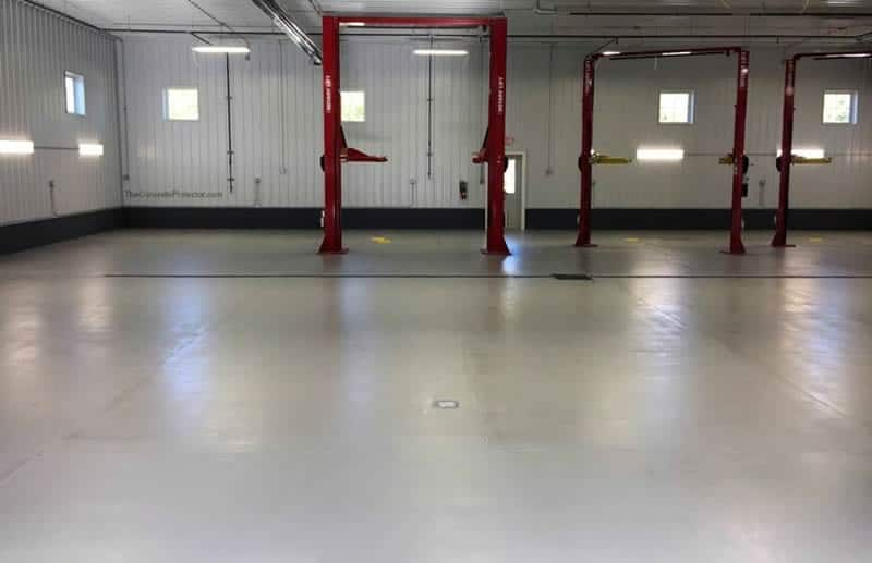 Industrial Automotive Quartz Floor Coating