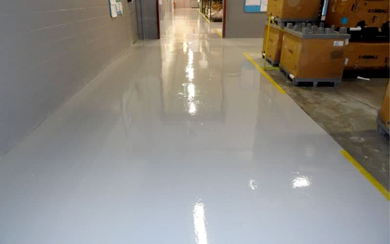 Industrial Warehousing Floor Finish
