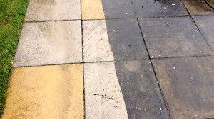 Pressure Washed Pavers