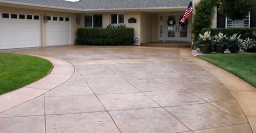 Driveway and Sidewalk Surface Coating