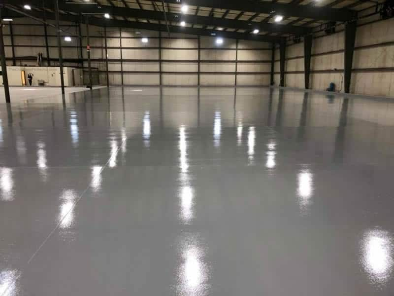 Industrial Warehouse Epoxy Floor Coating